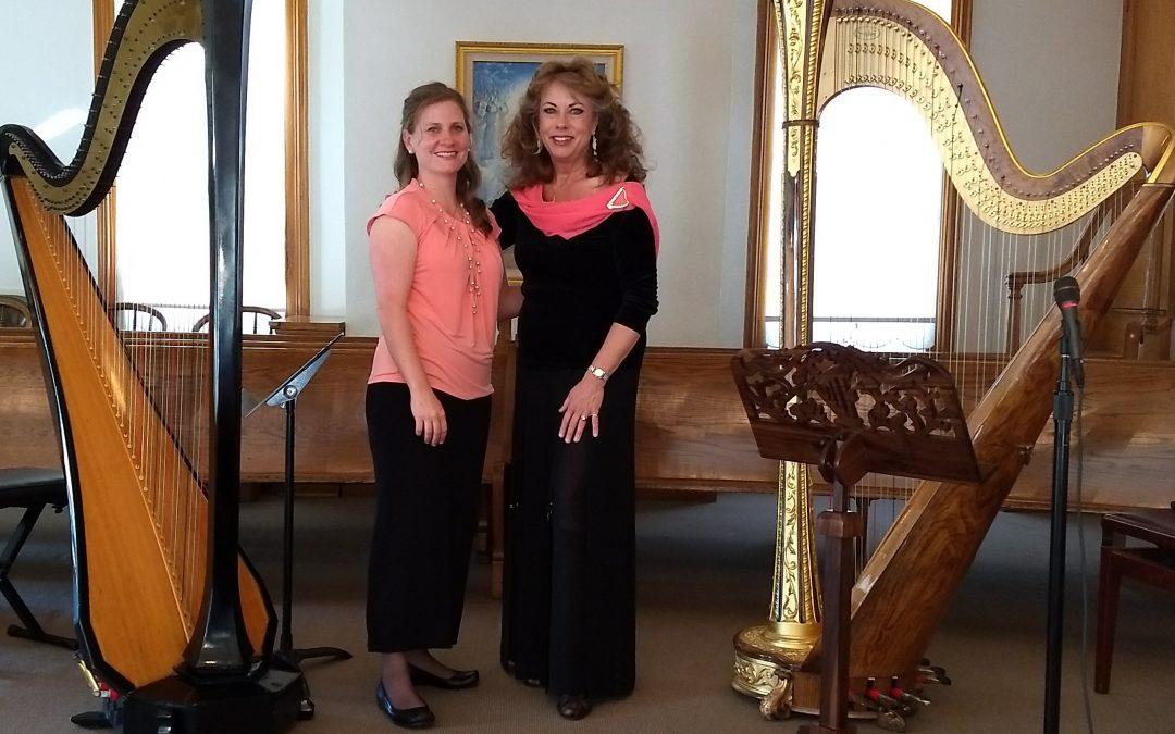 Harp Duet Concert at the Pine Valley Chapel, in Pine Valley, Utah