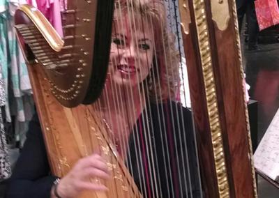 me and my harp