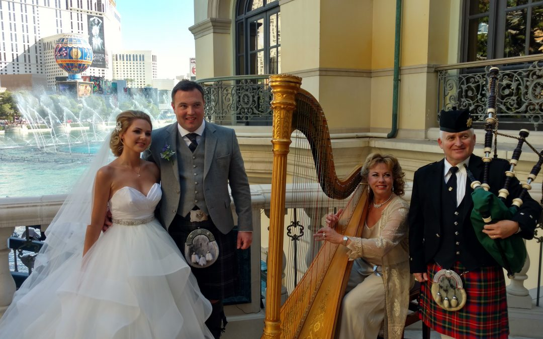 A Wedding with Old Scotland Traditions