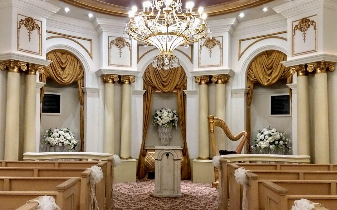 Wedding at the Paris Hotel Chapel Feb 27, 2019